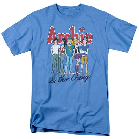 Archie Comics And The Gang   S S Adult 18 1   Carolina Blue   Xl