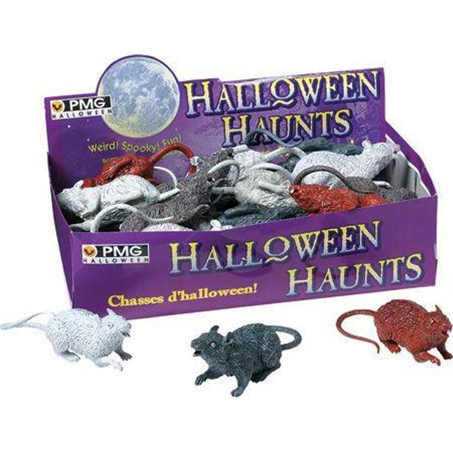 Costumes For All Occasions Pm542490 Rats Asst-Display Box Of 24