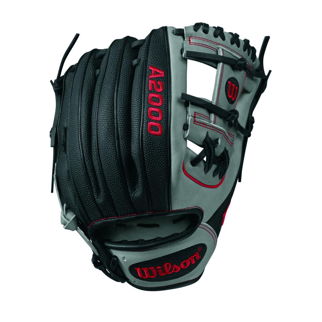Wilson A2000 SuperSkin 1788 Baseball Glove, 11.25in, Grey...