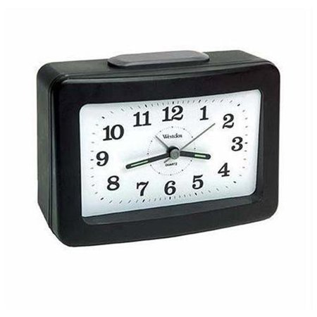 47550- Westclox Loud Bell QA Alarm Clock with Silent Movement ()