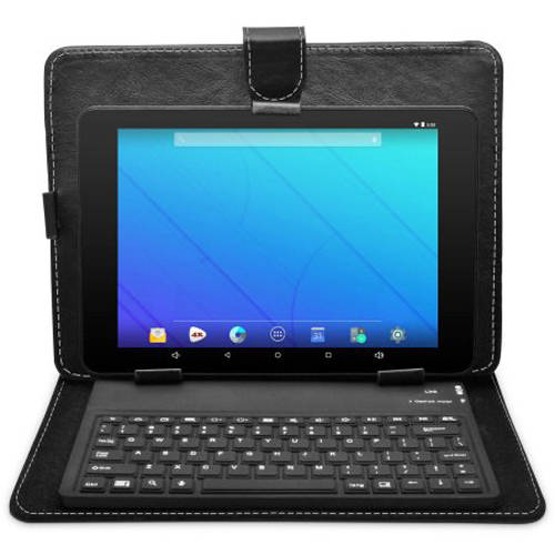 "Ematic Bluetooth Keyboard Folio for 8"" Tablets"
