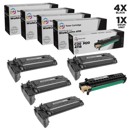 LD Xerox Compatible 6R1278 toners & 113R00671 Drum Unit Printing Supplies