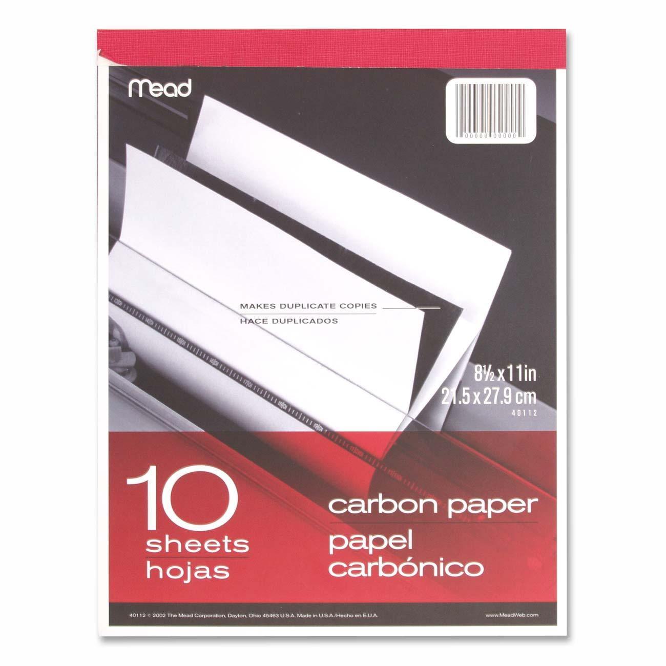 Carbon Paper Tablet