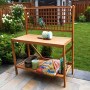 Merry Products Wood Potting Bench