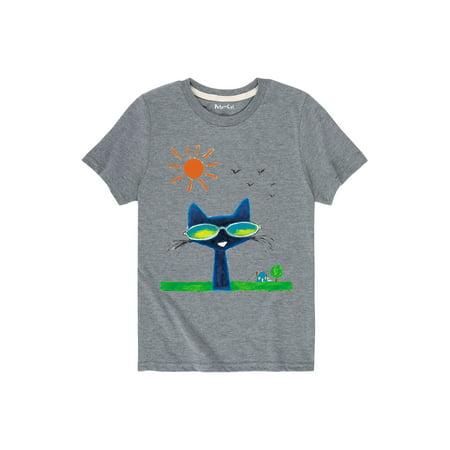 Pete The Cat  Magic Sunglasses - Toddler Short Sleeve (Cat With Sunglasses Shirt)