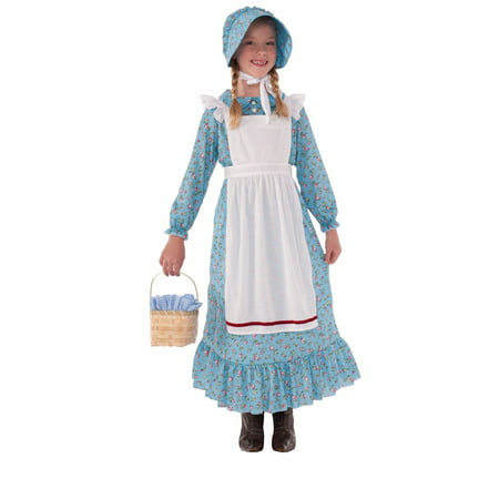 Halloween Child Pioneer Girl Costume](Fire Girl Costume Halloween)