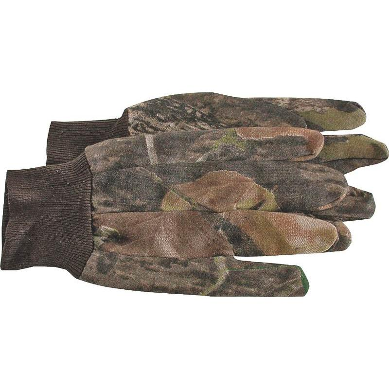Camoflauge Polyester Jersey Glove Unlined Boss Mfg Co Gloves - Jersey 4200MOL