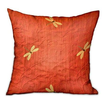 Plutus Brands PBDU1901-2026-DP 20 x 26 in. Firefly Red Animal Motif Luxury Throw Pillow](Firefly Brand)