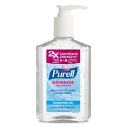 PURELL Advanced Hand Sanitizer Refreshing Gel, Clean Scent 12 fl oz Pump Bottle