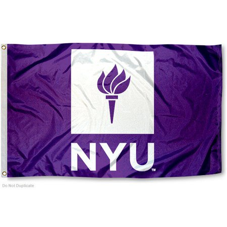 New York University Violets Flag
