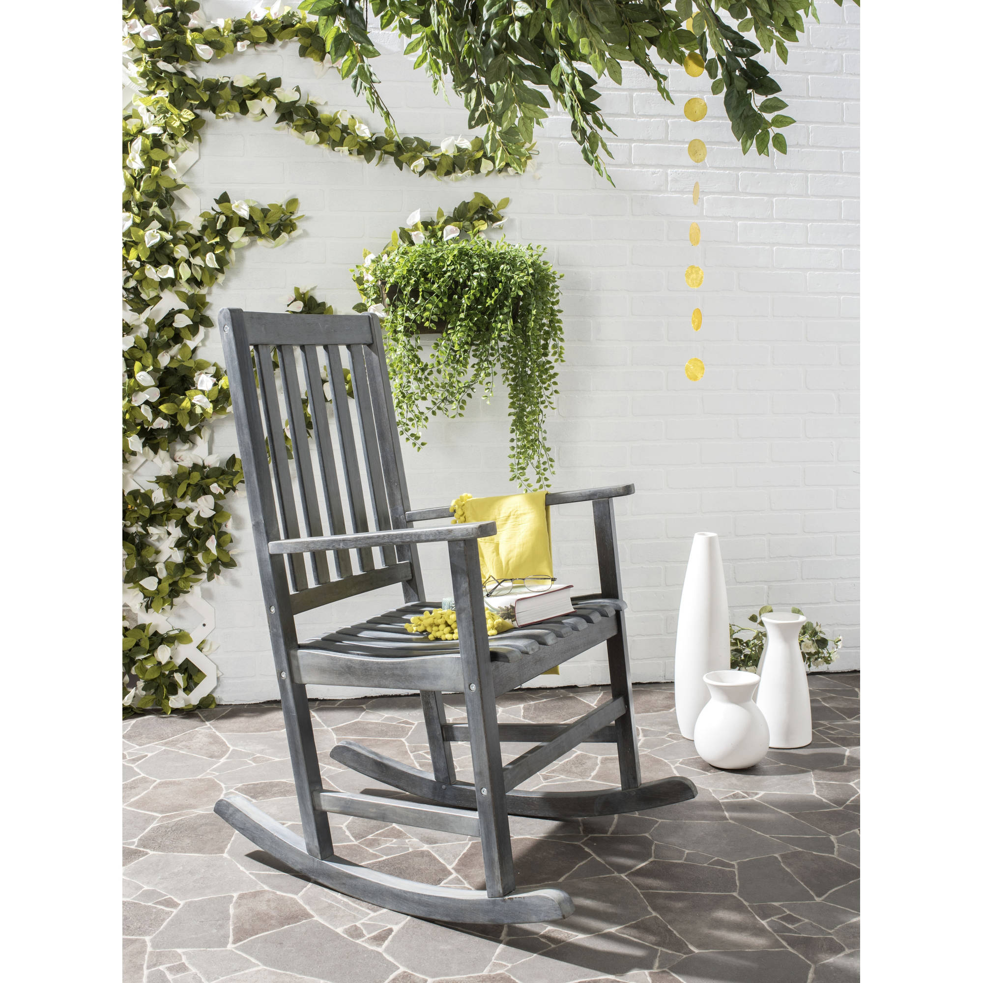 Safavieh Barstow Outdoor Rocking Chair, Multiple Colors by Safavieh