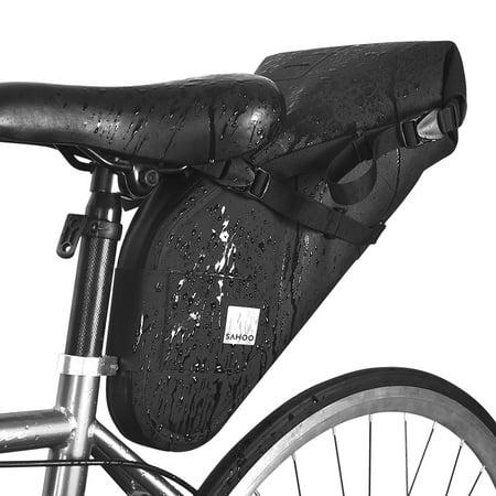Bike Bicycle Saddle MTB Bag Under Seat Waterproof Storage Cycling New Tail G7J4