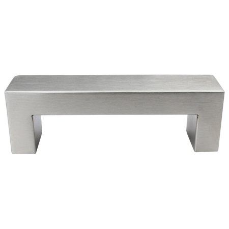 Urbanest Set Of 10 Cabinet Pulls Brushed Satin Nickel Anton Short