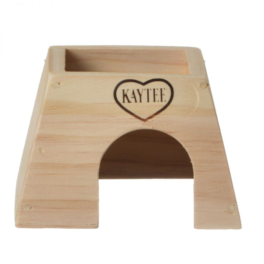 Kaytee Woodland Get A Way House Small Mouse (5L x 4.5W x 3.25H)