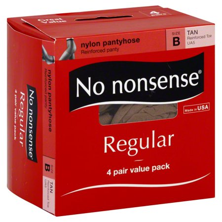2dc96031a No nonsense - No Nonsense Reinforced Regular Pantyhose