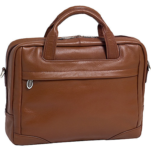 "McKlein USA Montclare Leather 13.3"" Laptop Brief"