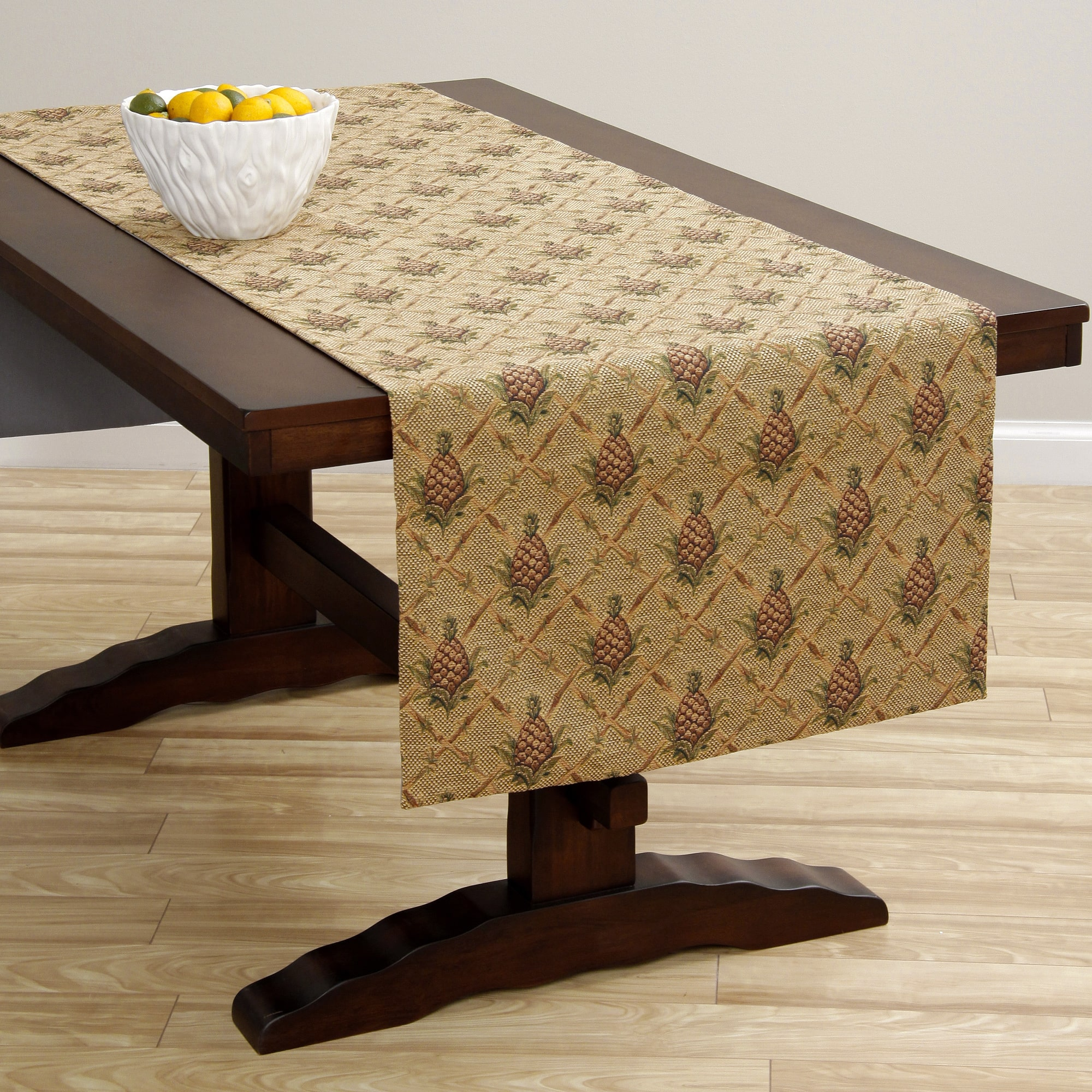 Corona Decor  Extra Wide Italian Woven 95 x 26-inch Table...