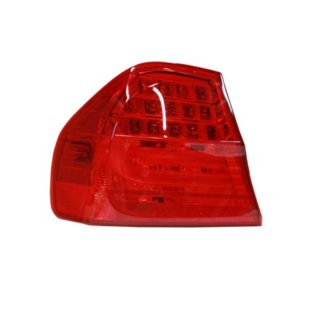 TYC 11-11678-90-1 Left Outer Tail Light Assembly for BMW 3 Series