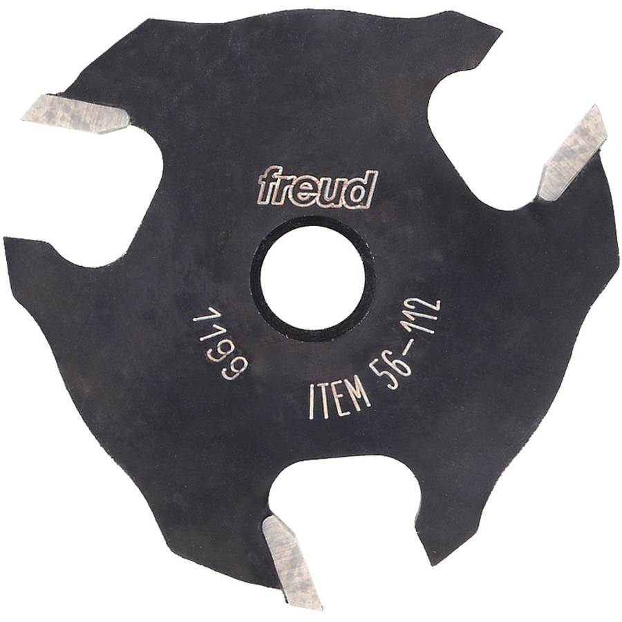 "Freud 56-112 1/4"" 3T Three Wing Slotting Cutter"