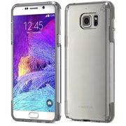 puregear slim shell pro black smoke clear case cover for samsung galaxy note 5
