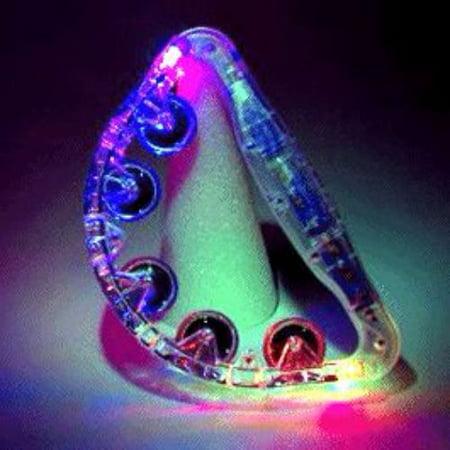 Light Up Large Tambourine - Wholesale Tambourines