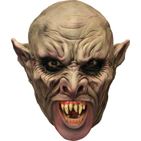Vamp Chinless Latex Mask Adult Halloween Accessory
