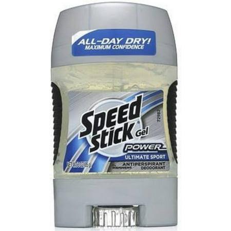 Speed Stick Anti-Perspirant Deodorant Gel Ultimate Sport 3 oz (Pack of 6) ()