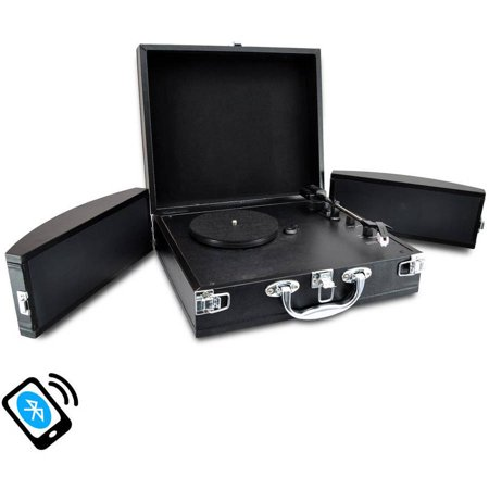 Pyle Home Bluetooth Classic Vinyl Record Player Turntable