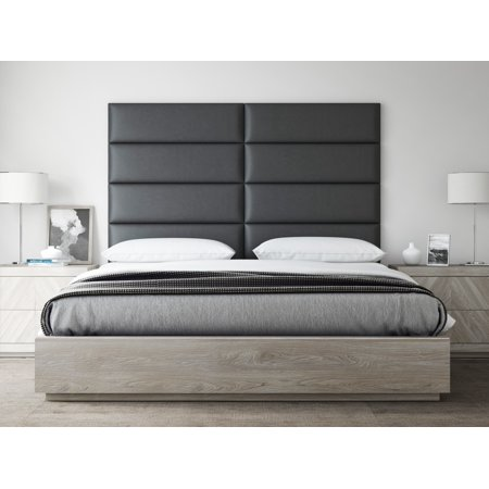 VANT Upholstered Headboards - Accent Wall Panels - Twin-King - Set of 4 panels