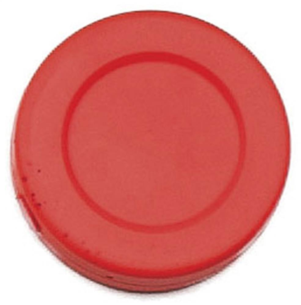 Hockey Puck in Red - Set of 12