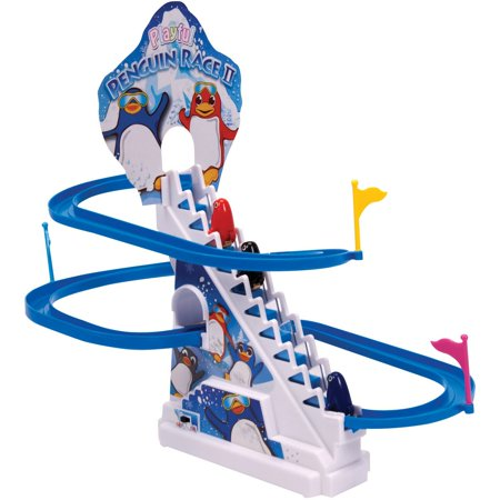 Schylling Penguin Race Play (Color Play Penguins)
