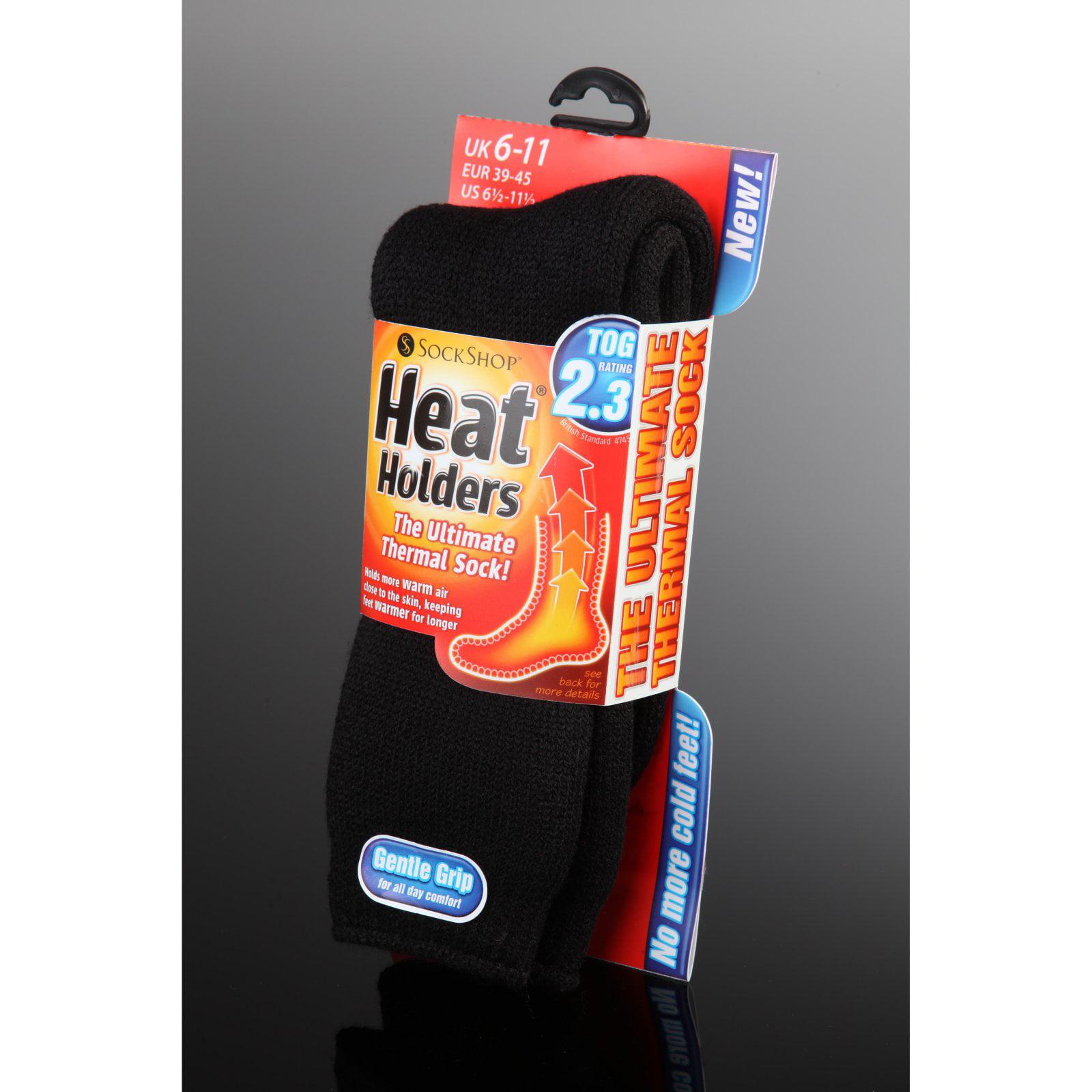 Mens  brushed thermal socks heat machine guaranteed warmth size 6-11