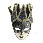 Dark Princess Mardi Gras Adult Costume Mask