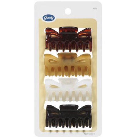 Goody Hair Clips, 4 count