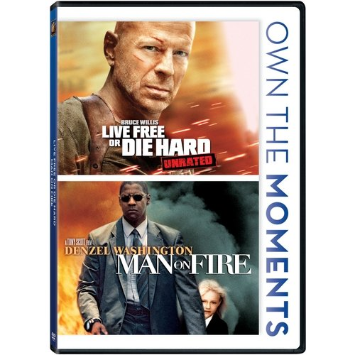 Live Free Or Die Hard / Man On Fire (Widescreen)