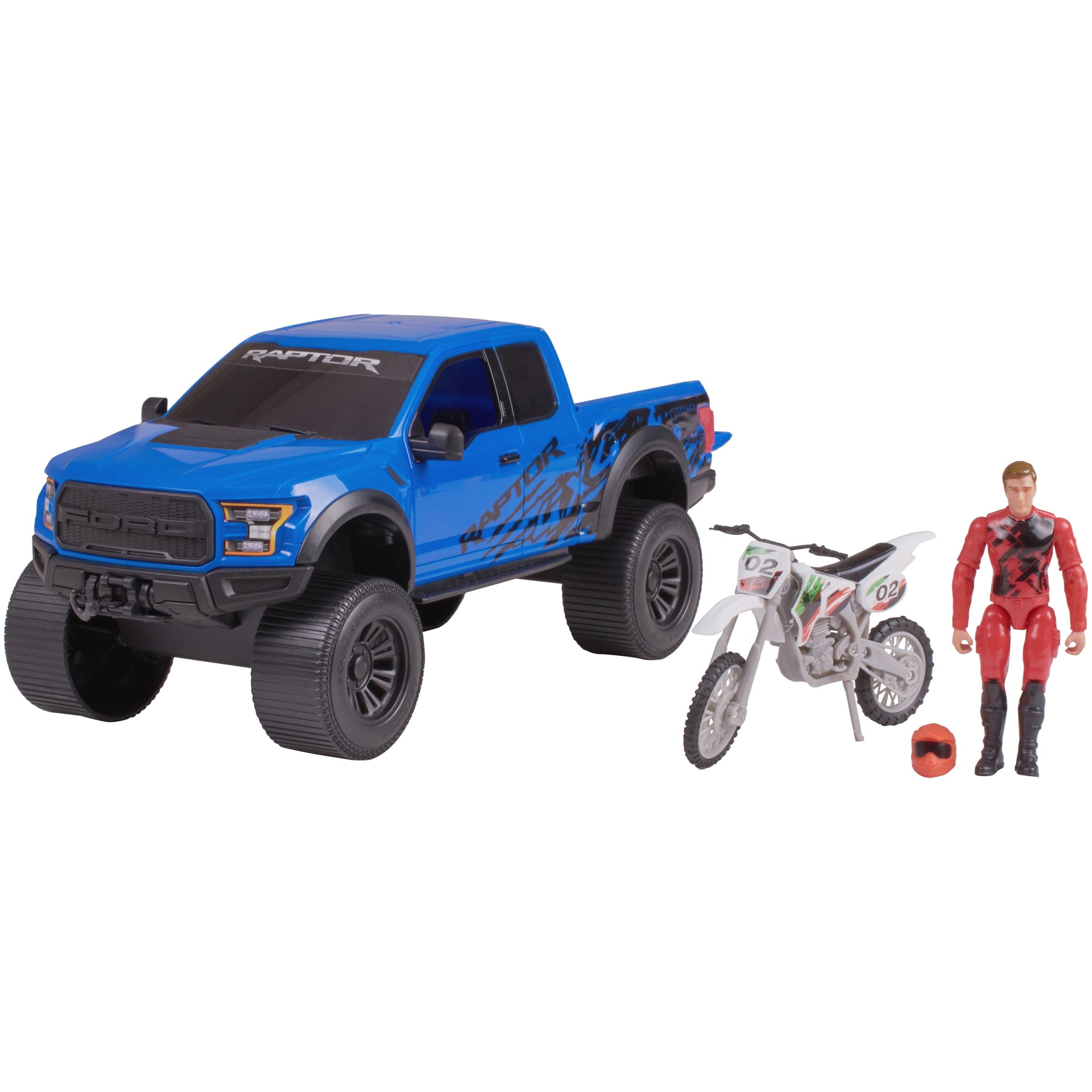 Adventure Force Outdoor Adventure Vehicle Set, Blue Ford Raptor
