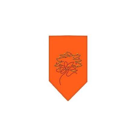 Wreath Rhinestone Bandana Orange - Bandana Wreath