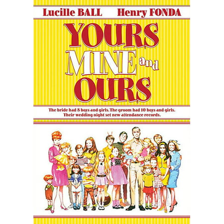 Yours, Mine And Ours (DVD) - Halloween Films For Family