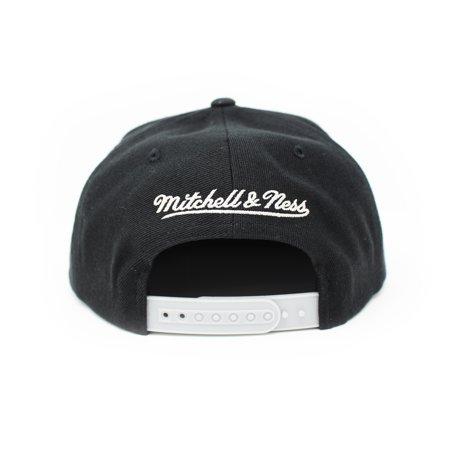 Mitchell and Ness Toronto Raptors Cracked Iridescent Black Snapback Hat - image 4 of 5