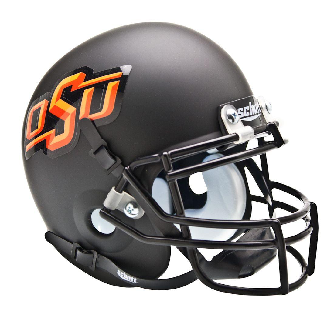 Oklahoma State Cowboys Schutt Mini Helmet - Black Alternate Helmet #3