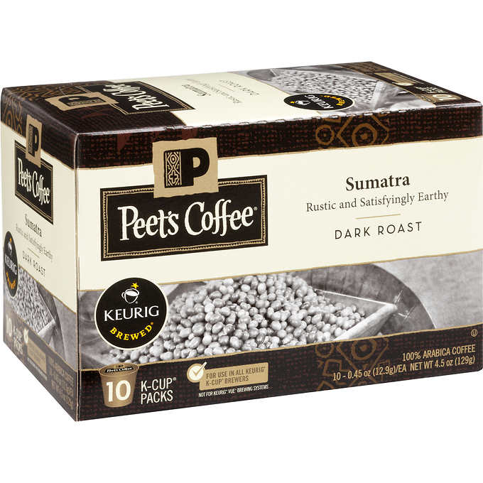 Peet'S Coffee Sumatra Blend 120 K-Cup Pods