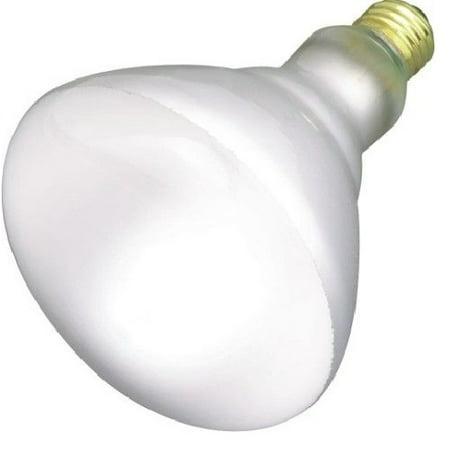 Eiko - 49801 - 65BR40/FL-130V - 65 Watt 130 Volt BR40 - Incandescent Reflector (Incandescent Eiko Light Bulb)