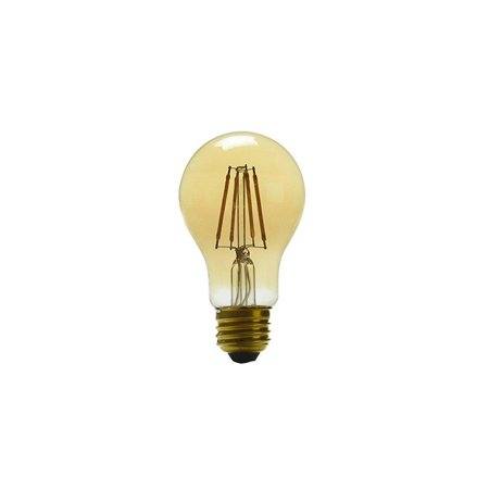 Kichler Bulb 60w Equivalent 4w Dimmable Amber A19 Vintage Led Decorative Light Antique Style