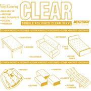 WFX Utility Super-Weight Clear Vinyl, per Yard