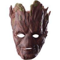 Adults Mens Marvel Guardians Of The Galaxy Groot Mask Costume Accessory