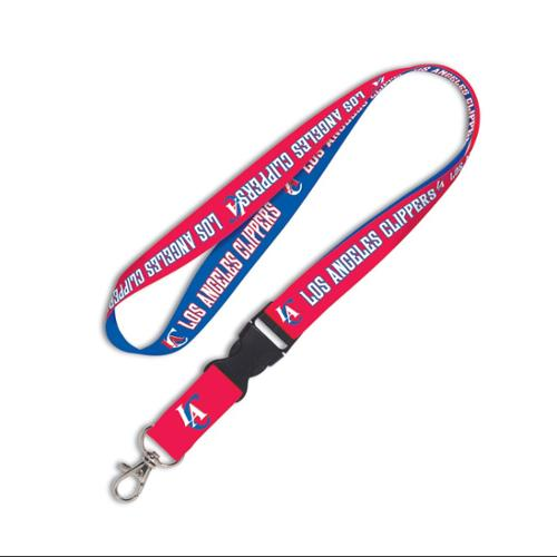 Los Angeles Clippers Official NBA 20 inch  Lanyard Key Chain Keychain by WinCraft