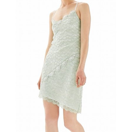 TopShop NEW Mint Green White Lace Crochet Women's 8 Cutout Sheath Dress