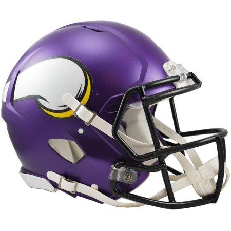 Viking Helmet Football (Riddell Minnesota Vikings Revolution Speed Full-Size Authentic Football)