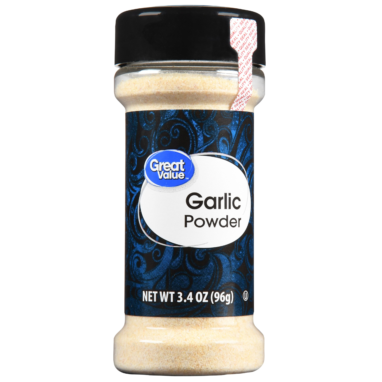 (3 pack) Great Value Garlic Powder, 3.4 oz