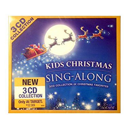 Kids Christmas Sing-Along: 3 CD Collection of Christmas Favorites CD ()